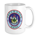 Maine Masons Large Mug
