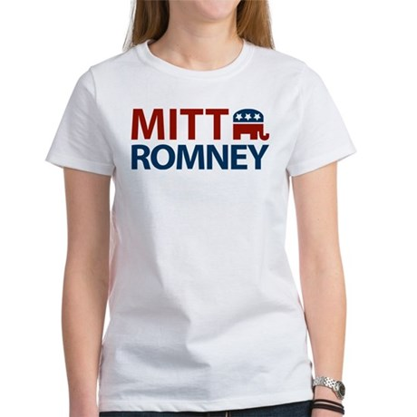 Mitt Romney GOP Women's T-Shirt