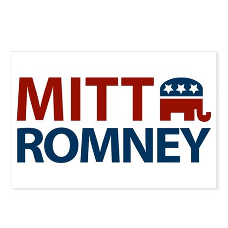 Mitt Romney GOP Postcards (Package of 8)