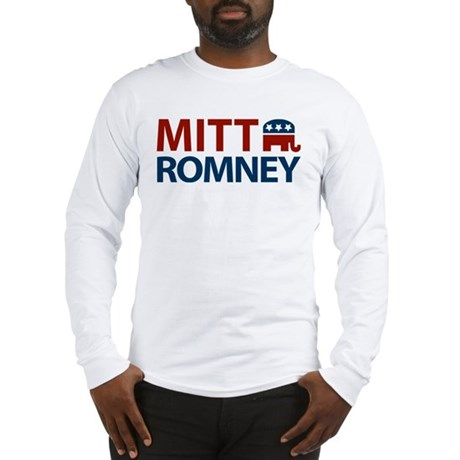 Mitt Romney GOP Long Sleeve T-Shirt