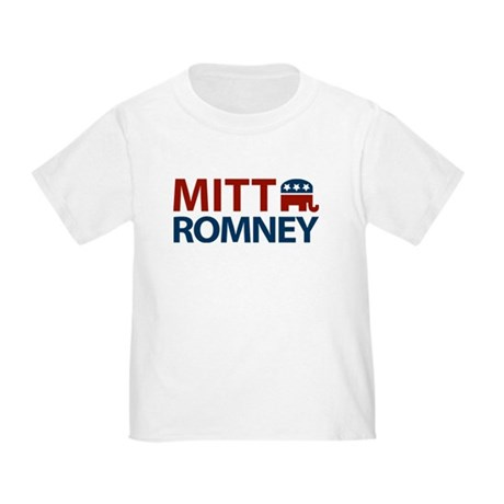 Mitt Romney GOP Toddler T-Shirt