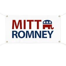 Mitt Romney GOP Banner