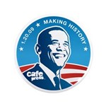 "Official CP Inauguration 3.5"" Button (100 pack)"