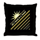 Need Towel - Throw Pillow
