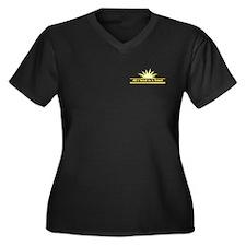 Need Towel - Women's Plus Size V-Neck Dark T-Shirt