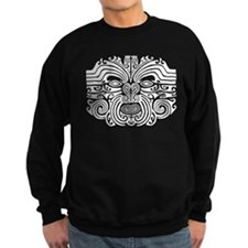 Maori Tatto-black & white Sweater