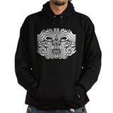Maori Tatto-black & white Hoody