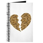 Broken Leopard Heart Journal