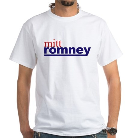 Mitt Romney White T-Shirt