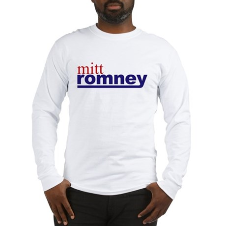 Mitt Romney Long Sleeve T-Shirt