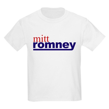 Mitt Romney Kids Light T-Shirt