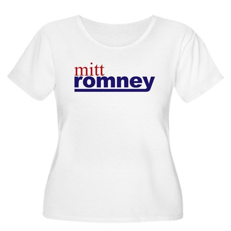 Mitt Romney Women's Plus Size Scoop Neck T-Shirt