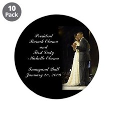 "Obama Inaugural Dance 3.5"" Button (10 pack)"