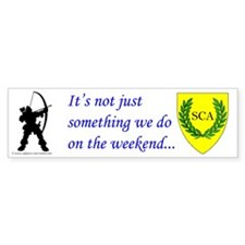 Not Just Archery Bumper Sticker (10 pk)