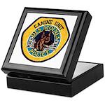 Des Moines Police K9 Keepsake Box