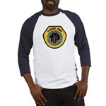 Des Moines Police K9 Baseball Jersey