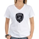 Cocoa Police Canine Women's V-Neck T-Shirt