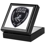 Cocoa Police Canine Keepsake Box