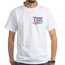 Heroes Among Us THYROID CANCER Shirt