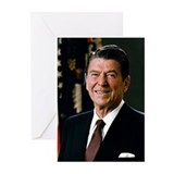 Reagan Portrait Greeting Cards (Pk of 10)
