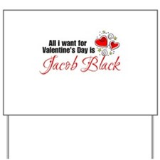 Valentines Day Jacob Yard Sign