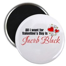 Valentines Day Jacob Magnet
