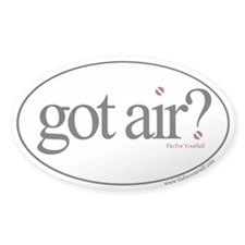 Got Air? Oval Sticker (50 pk)