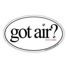 Got Air? Oval Decal
