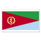 Eritrea Rectangle Sticker 10 pk)