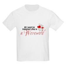 Valentines Day Werewolf T-Shirt