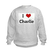 I Love Charlie Sweatshirt