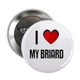 "I LOVE MY BRIARD 2.25"" Button (100 pack)"