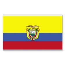 Ecuador Rectangle Decal