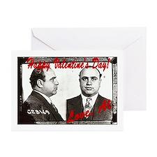Al Capone Valentine Greeting Cards (Pk of 10)
