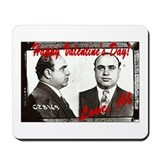 Al Capone Valentine Mousepad