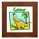 -Connor Dinosaur Framed Tile