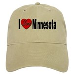 I Love Minnesota Cap