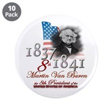 "8th President - 3.5"" Button (10 pack)"