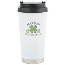 Part Irish, All Trouble Ceramic Travel Mug