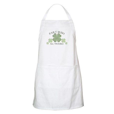 Part Irish, All Trouble BBQ Apron