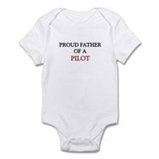 Proud Father Of A PILOT Onesie