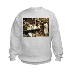 Boston Veggie Seller Kids Sweatshirt