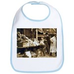 Boston Veggie Seller Bib