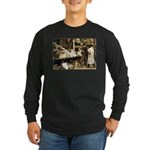 Boston Veggie Seller Long Sleeve Dark T-Shirt