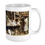 Boston Veggie Seller Large Mug