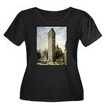 Flatiron Building New York Women's Plus Size Scoop