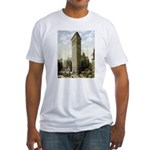 Flatiron Building New York Fitted T-Shirt