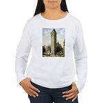 Flatiron Building New York Women's Long Sleeve T-S
