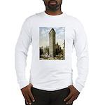 Flatiron Building New York Long Sleeve T-Shirt