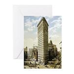 Flatiron Building New York Greeting Cards (Pk of 2